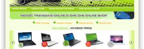 Desain Web Tutorial : Contoh Desain Web Toko Online E-Commerce Dengan HTML+CSS+JS